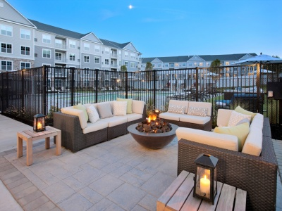 Parc Westborough Outdoor Grills and Fire Pit